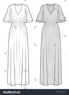 DRESS fashion flat sketch template Source by gudzienko fashio - Sketch Templates - Ideas of Sketch Templates - DRESS fashion flat sketch template Source by gudzienko fashion drawing Fashion Illustration Sketches, Fashion Design Sketches, Wedding Dress Shapes, Fashion Flats, Fashion Dresses, Clothing Patterns, African Fashion, Designs To Draw, Dress Drawing