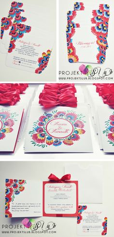 wedding invitations - folk theme Wedding 2015, Red Wedding, Polish Wedding Traditions, Wedding Invitations, Invites, Wedding Save The Dates, Davids Bridal, Wedding Inspiration, Wedding Ideas
