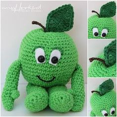 Read all about gratis haakpatroon haken-haak-lidl on yoors. Crochet Diy, Crochet Apple, Crochet Baby Toys, Crochet Amigurumi, Crochet Food, Crochet Animals, Crochet For Kids, Crochet Crafts, Crochet Dolls