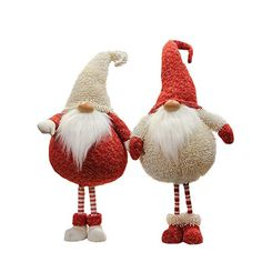 "29"" Textured Ivory and Red Tall & Chubby Gnome Plush Table Top Christmas Figure Northlight http://smile.amazon.com/dp/B015X43FOU/ref=cm_sw_r_pi_dp_r89twb0TVTHTK"