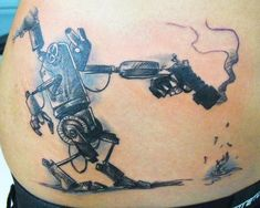 Robot Tattoos: Artificially Intelligent Body Art « Tattoo Pictures ...