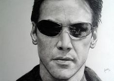 Neo - Keanu Reeves Matrix by agusgusart on deviantART Keanu Reeves Matrix, Keeanu Reeves, New Matrix, Keanu Charles Reeves, Black White Photos, Brown Shoe, Beautiful Soul, Caricature, The Man