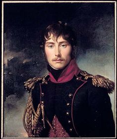Eugène de Beauharnais, Josephine's son by her first husband. adopted by Napoleon Napoleon Josephine, Empress Josephine, Keanu Reeves, La Malmaison, French Royalty, Wars Of The Roses, Miniature Portraits, French History, French Empire