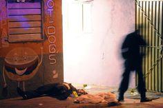 12 de febrero. Tres hombres son ejecutados en la colonia Santa María de Guadalupe La Quebrada, Cuautitlán Izcalli. foto: Cuartoscuro