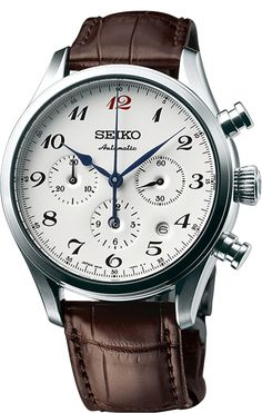 Seiko Watch Presage 60th Anniversary Mechanical Chronograph #bracelet-strap-aligator #brand-seiko-astron #case-depth-15-2mm #case-material-steel #case-width-42mm #chronograph-yes #date-yes #description-done #dial-colour-white #discount-code-allow #gender-mens #limited-edition-yes #movement-automatic #official-stockist-for-seiko-astron-watches #packaging-seiko-astron-watch-packaging #style-dress #subcat-seiko-presage #supplier-model-no-srq019j1 #warranty-seiko-astron-official-2-year-guarantee…