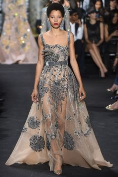 Elie Saab Haute Couture Fall 2016 Collection | Fab Fashion Fix