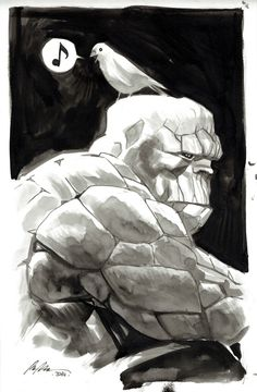 Ben Grimm - The Thing by Rafael Albuquerque
