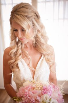 If my hair is long enough, this is perfect wedding hair!