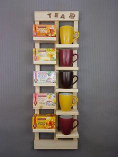 Tee Regal Upcycling Einzigartiges Tee Regal, welches du nach deinen Vorstellungen gestalten kannst.Tee, Teeregal, Regal, Küche, Holz, Upcycling, Unikat, einzigartig, weiß, Natur, Dose, Zucker, Tasse, Küchenregal, DIY, selbstgemacht, Handmade, Wandregal, Esszimmer, Deko, Einrichten, gestalten