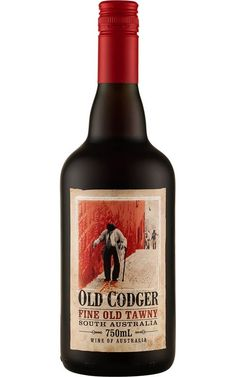 Dutschke Old Codger Tawny Port NV Barossa Valley - 12 Bottles Sweet Wine, Wine Labels, Whiskey Bottle, Wines, Bottles, Alcohol, Dessert, Liqueurs, Desserts