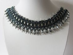 Necklace Gothic  Original stylish necklace author's by funnypearl