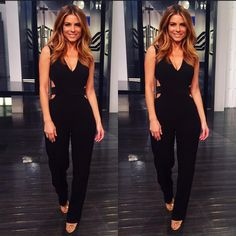 """""""'@enews fashion Heels: joesjeans x @solesociety  Jumper: @bcbgmaxazria We have a fun show for u today - don't forget to watch 7&11pm on E!"""""""