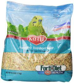 Kaytee Forti Diet Pro Health Food for Parakeet, 5-Pound - http://www.petsupplyliquidators.com/kaytee-forti-diet-pro-health-food-for-parakeet-5-pound/