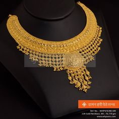 Explore the trendy collection of gold necklace set at Waman Hari Pethe Sons. Gold Ring Designs, Gold Bangles Design, Gold Earrings Designs, Gold Jewellery Design, Necklace Designs, Gold Wedding Jewelry, Gold Jewelry Simple, Gold Rings Jewelry, Gold Necklaces