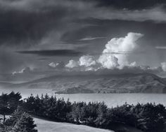 1952 Golden Gate Headlands from Lincoln Park, San Francisco, California By Ansel Adams