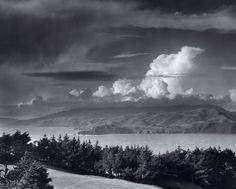 Ansel Adams, Golden Gate Headlands , 1950