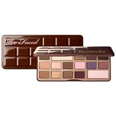 Too Faced Chocolate bar eyeshadow palette #toofaced