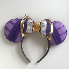 This Hercules Megara Disney-inspired Mickey Ears is just one of the custom, handmade pieces you'll find in our headbands & turbans shops. Disney Cute, Diy Disney Ears, Disney Mickey Ears, Disney Bows, Disney Diy, Disney Crafts, Disney Style, Mickey Mouse, Disney Outfits