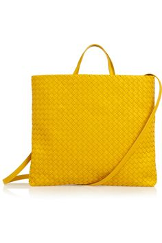 . . . this is pretty much perfection! Bottega Veneta Intrecciato leather tote #handbag
