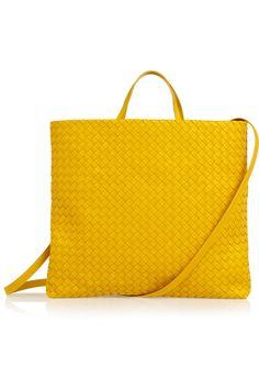 . . . this is pretty much perfection! Bottega Veneta Intrecciato leather tote #handbag