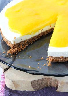 Onweerstaanbaar lekkere cheesecake met mango en passievrucht