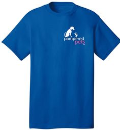 Pampered Pets Adult 100-Percent Cotton 'Bad Decisions Make Great Stories' T-Shirt, Medium, Royal Blue >>> Check out this great product.