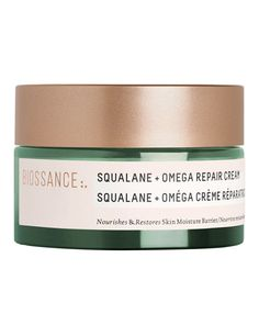 Biossance | Squalane + Omega Repair Cream | Cult Beauty Best Moisturizer, Moisturiser, Hair And Makeup Tips, Dewy Skin, Best Face Products, Shea Butter, Cool Things To Buy, Cream