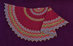 Ravelry: Scivias pattern by Xandy Peters Knitting Projects, Knitting Patterns, Zhurnal Mod, Latin Words, Color Stripes, Chevron, Free Pattern, Knit Crochet, Stitch