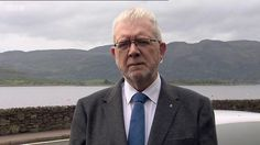 """Theresa May's Brexit plans should be dropped urgently, according to the Scottish government.  Scotland's Brexit minister, Michael Russell, told the BBC's Sunday Politics Scotland programme that Mrs May's leadership was now """"untenable"""".  He said Scotland's proposals published last year could be a starting point for the UK government and devolved administrations to draw up a new plan."""