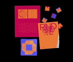 """Check out this @Behance project: """"RND+MORE"""" https://www.behance.net/gallery/56326061/RNDMORE"""