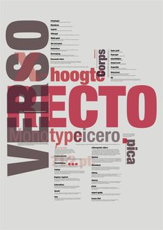 TYPOGRAPHY RULES POSTER by Domininkas sakalauskas, via Behance