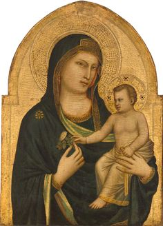 Madonna and Child (overall and detail), about Giotto di Bondone. National Gallery of Art, Washington, Samuel H. Kress Collection Celebrating Giotto for Florence Friday with this. Renaissance Kunst, Renaissance Artists, Religious Icons, Religious Art, Italian Paintings, Medieval Paintings, Late Middle Ages, Byzantine Art, National Gallery Of Art