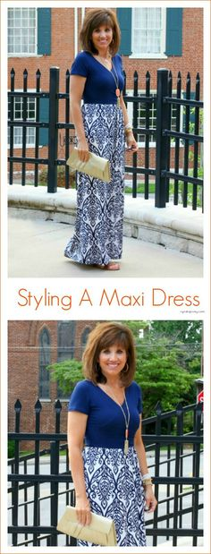I love this Gilli Clothing Maxi dress. Summer is a perfect time to wear a maxi dress so I'm styling one today! ‪#‎summerfashion‬ ‪#‎maxidress‬ ‪#‎graceandbeautystyle‬ ‪#‎americanmade‬