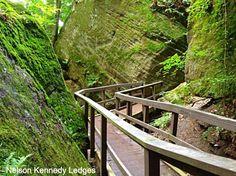 Nelson Kennedy Ledges State Park: The Hidden Park That Will Make You Feel Like You've Discovered Ohio's Best Kept Secret