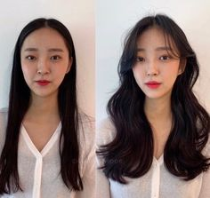 • 3) Hair만으로도 다른사람이~? 헤어스타일 전/후 : 네이버 블로그 Hair Inspo, Hair Inspiration, Korean Long Hair, Long Hair Cuts, Long Hair Styles, Unique Braided Hairstyles, Aesthetic Hair, Design Girl, Dream Hair