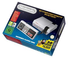 Nintendo Classic Mini: Nintendo Entertainment System De Nintendo Entertainment System: NES Classic Edition heeft de oorspronkelijke look en feel alleen kleiner slanker en voorgeladen met 30 wedstrijden.Nog nooit gebruikt zijn oorspronkelijk verzegelde!Volgende spellen zijn geïnstalleerd:Ballon strijdBUBBLE BOBBLECastlevaniaCastlevania II: Simon's QuestDonkey KongDonkey Kong Jr.DOUBLE DRAGON II: THE REVENGEDr. MarioExcitebikeFINAL FANTASYGalagaGHOSTS'N GOBLINSGRADIUSIce ClimberKid…