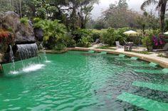 paradise hotsprings main pool    - Costa Rica