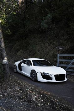 Audi R8 Sports Car - sex on wheels. My dream car
