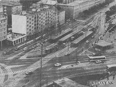 Trnavské mýto, 80's Bratislava, Modernism, Old Photos, City Photo, Times, Pictures, Pagan, Cow, Antique Photos