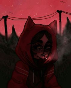 Dark Anime, Aesthetic Art, Aesthetic Anime, Goodnotes 4, Character Art, Character Design, Sad Art, Creepy Art, Gothic Art