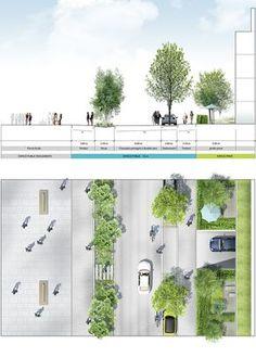 - Landscape Design For All - Paisagismo Landscape And Urbanism, Landscape Architecture Design, Landscape Plans, Urban Landscape, Landscape Steps, Plans Architecture, Architecture Graphics, Architecture Drawings, Classical Architecture