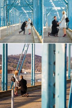 Surprise Proposal Photos by Bamber Photography