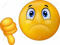 Dislike sign emoticon vector image on VectorStock Smiley Emoji, Ios Emoji, Emoticon Faces, Funny Emoji Faces, Silly Faces, Images Emoji, Emoji Pictures, Animated Emoticons, Funny Emoticons