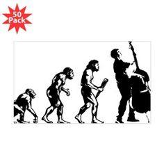 Evolution-Man-05-a Sticker (Rectangle)