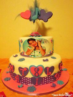torta violetta sweet