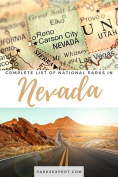 Did you know there are 3 national parks in Nevada? Click here for the list, including things to do and how to get there. Plus, download my free checklist! | national parks in Nevada | Nevada national parks Nevada National Parks, List Of National Parks, Travel Articles, Travel Tips, Honeymoon Tips, Service Map, Lake Mead, Hoover Dam, Nevada City
