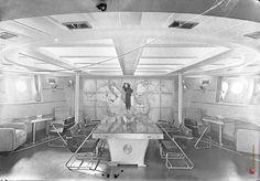 Seldom interior images of Italy's WWII Battleship Roma