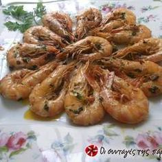 Greek Recipes, Fish Recipes, Greek Cooking, Appetizer Dips, Weight Watchers Meals, Fish And Seafood, Food Processor Recipes, Shrimp, Pisces