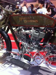 Love Harley Davidson Motorcycles