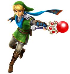 Link & Fire Rod | Hyrule Warriors | The Legend of Zelda
